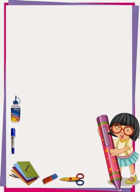 imagenes bonitas escolares marco para caratula de ni 241 a dise 241 o escolar escolares