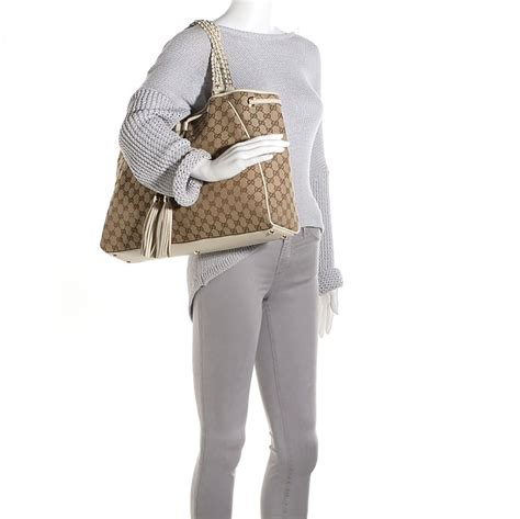 gucci braid pictures gucci monogram peggy braided tote off white 97315