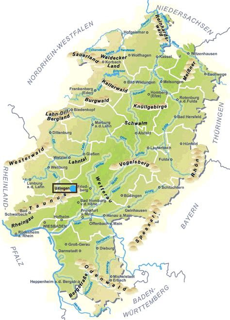 state map of germany map of germany