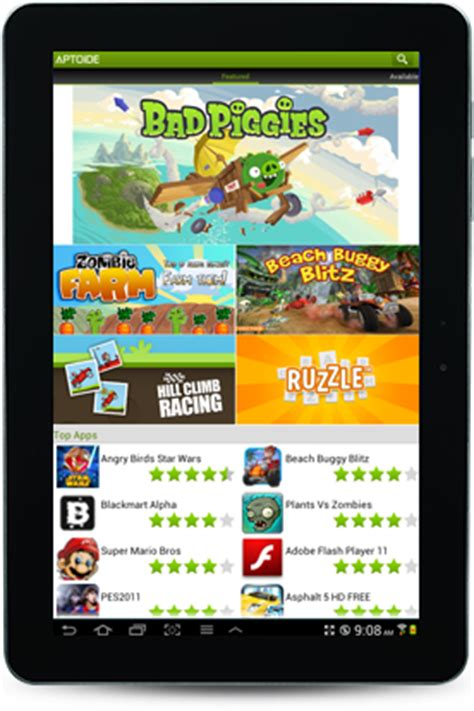 aptoide tablet descargar aptoide para tablet