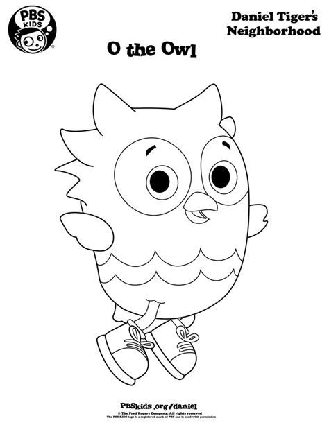 daniel tiger coloring pages the world s catalog of ideas