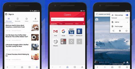 android material design freebiesbug el renovado opera para android con interfaz material design