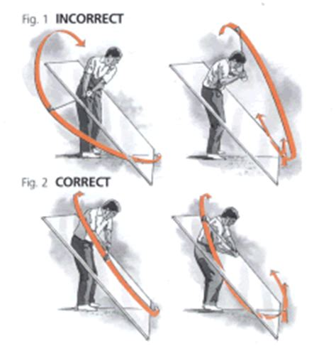 causes of over the top golf swing how to stop the over the top golf swing