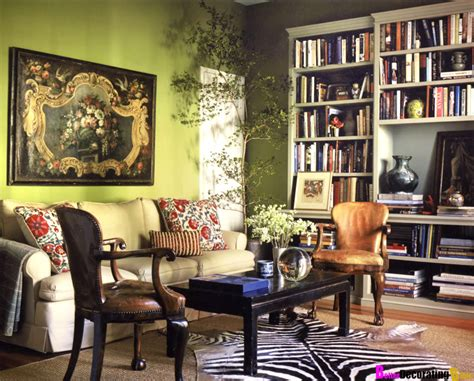 Olive Green Accessories Living Room by Eye For Design Olive Green Interiors