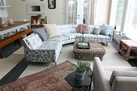 Sofa Placement by Sectional Sofa Rug Placement Sofa Hpricot