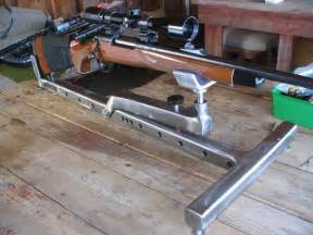 how to build a rifle bench rest pin by joey franklin on guns pinterest