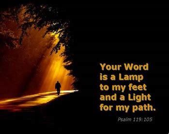 light to my path a l to my feet a light for my path psalm 119 105