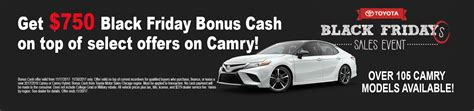 Toyota Black Friday Deals Andrew Toyota Official