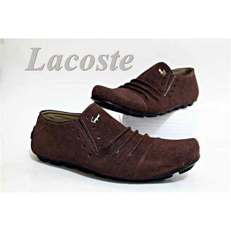 Sepatu Crocodile Aron Black Suede 1 jual sepatu crocodile lacoste kulit pria terbaru slop selop slip on toko sepatu slop pria