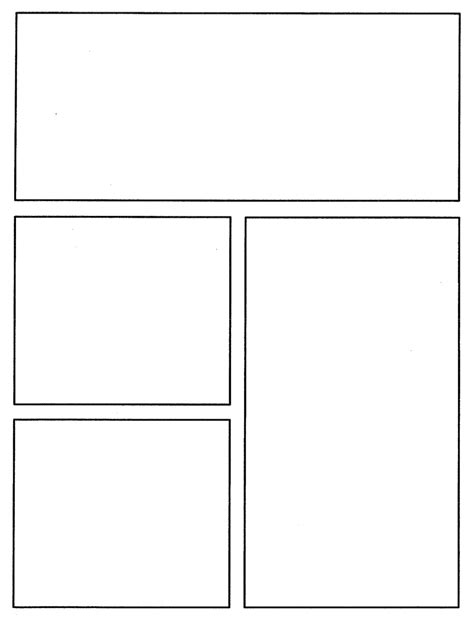 comic book layout template comic book template beepmunk