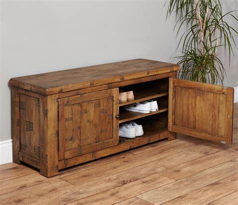 solid oak shoe storage cabinet heyford sawn solid oak furniture shoe storage