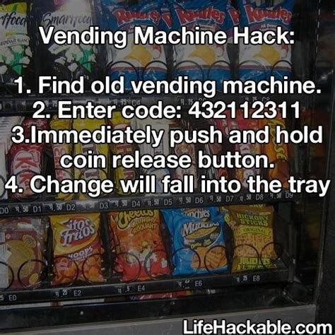 good hack ideas code 25 best ideas about vending machine hack on pinterest