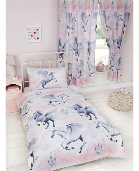 Tractor Wall Stickers stardust unicorn single duvet cover bedding bedroom