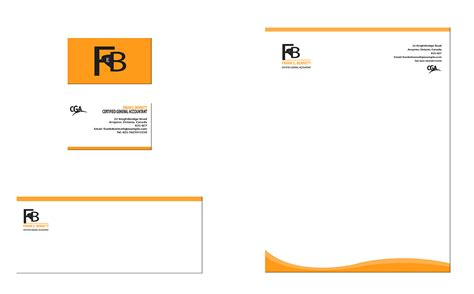 cool letterhead templates letterhead business card with cool logo letterhead
