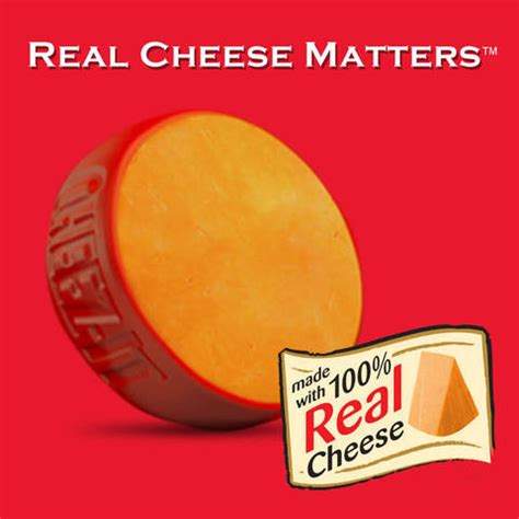 Real Cheese Cheez It Original Baked Snack Crackers 13 7oz Target