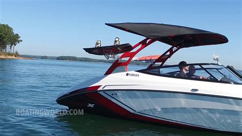 yamaha boats test yamaha 242x boat test youtube