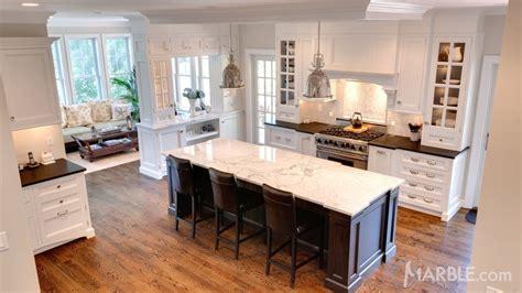 kitchen islands with granite countertops marble island with contrasting granite countertops