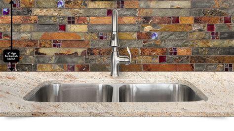 Sample Backsplashes For Kitchens subway slate glass mosaic kitchen backsplash tile
