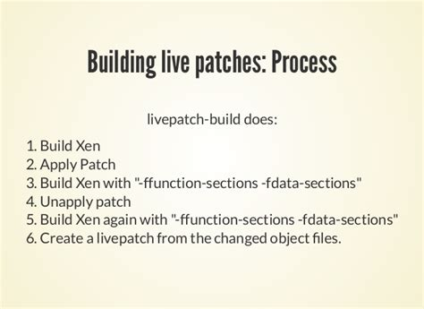 fdata sections xpds16 xen live patching updating xen without rebooting