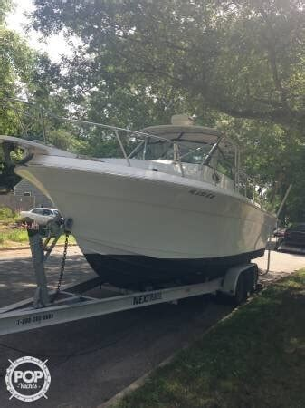 proline boats for sale in massachusetts 1987 used pro line 28 offshore walkaround fishing boat for