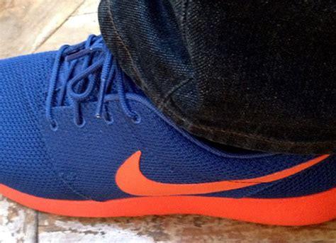Nike Roshe Run Blue Orange nike roshe run blue orange sneakernews