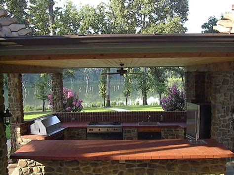 plans for an outdoor kitchen