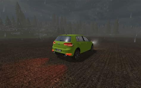 vw golf     ls farming simulator  fs ls mod