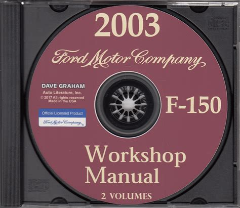 2003 ford f 150 repair shop manual original 2 volume set 2003 ford f 150 bi fuel lpg engine emissions diagnosis manual original