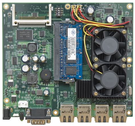 Router Mikrotik Rb1000 mikrotik routerboard rb 1000 rb1000 complete performance router with 4 10 100 1000