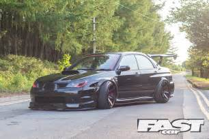 Modded Subaru Sti Modified Subaru Impreza Wrx Fast Car