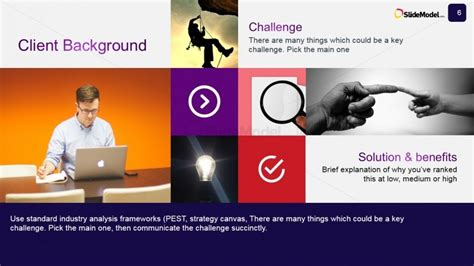 Client Background Powerpoint Slide Design Slidemodel Study Presentation Template