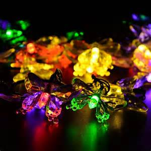 outdoor butterfly lights butterfly solar led string lights festival