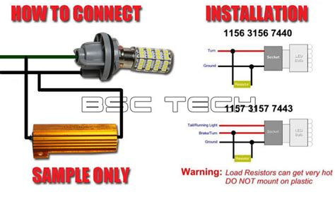 led load resistor problems yzf600r forums view topic signal problems