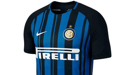 Jersey Bola Inter Milan Home 2017 2018 Official Grade Ori kaos real madrid 3d cristiano ronaldo bola kaos bola 3d inter milan hitam 12991fe2