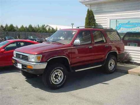 airbag deployment 1994 toyota 4runner transmission control buy used 1994 toyota 4 runner sr5 v6 glass moonroof new tires orig from california in