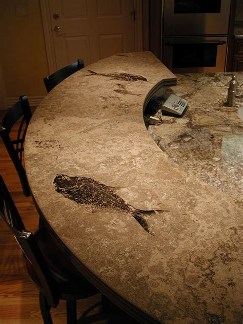 click here to see a kitchen with fossil countertops