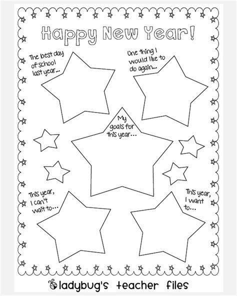 new year template printable new year resolution template invitation template