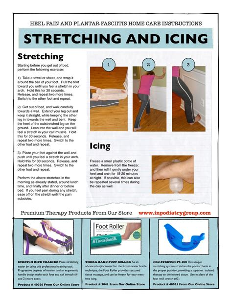 Planters Fasciitis Exercises by Planter Faschitis Home Improvement