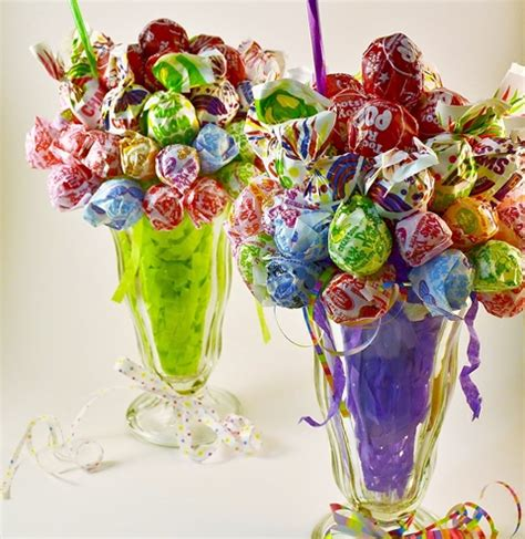 how to do a christmas candy sunday centerpiece how to make a lollipop malt sucker bouquet rada