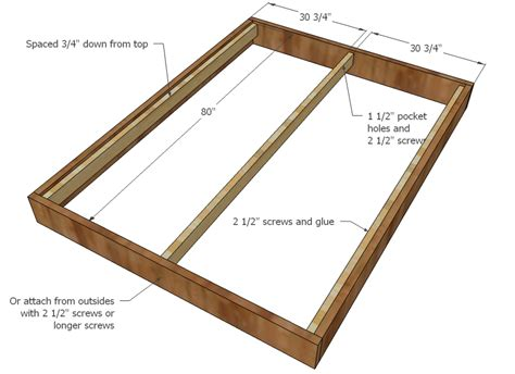 Measurements Of Queen Size Bed Frame Gallery Queen Size Bed Frame Plans