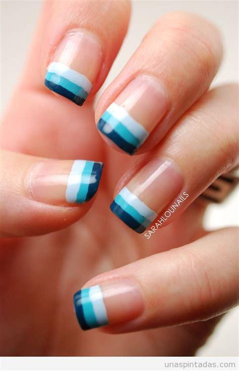 imagenes de uñas de acrilico color turquesa ideas para decorar las u 241 as de azul mis u 241 as decoradas