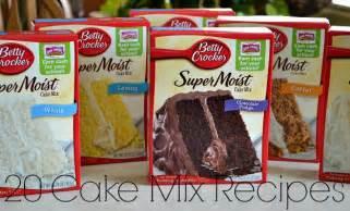 20 cake mix recipes