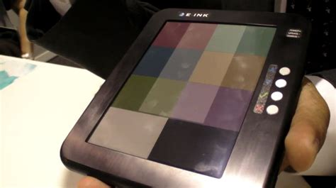 e ink color e ink promises thinner lighter higher resolution and
