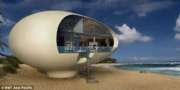 Build Your Own Modular Home giant egg shaped houses made out of reclaimed material