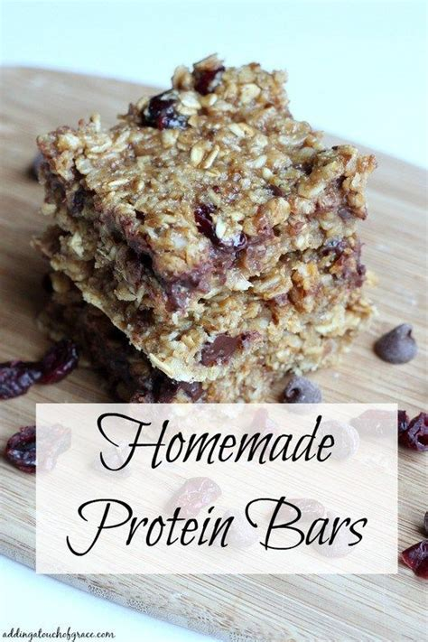 homemade protein bars lettuce head pinterest homemade protein bars recipe homemade protein and