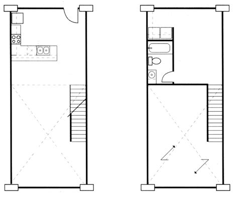 attic apartment floor plans studio loft apartment floor and floor