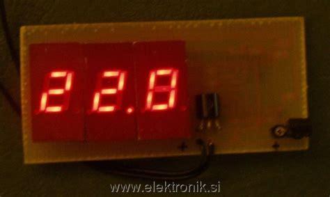 Sparepart Elektronik Ne 592 Ni4 www elektronik si poglej temo digitalni termometer z led prikazovalnikom pic16c54 ds1820