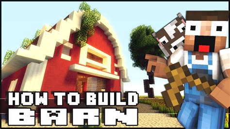 minecraft how to build a barn