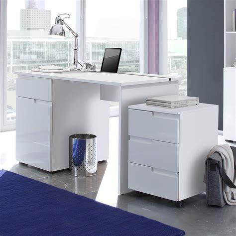 schreibtisch weiß hochglanz 120 cm schreibtisch spice b 252 rotisch laptoptisch tisch in mdf wei 223
