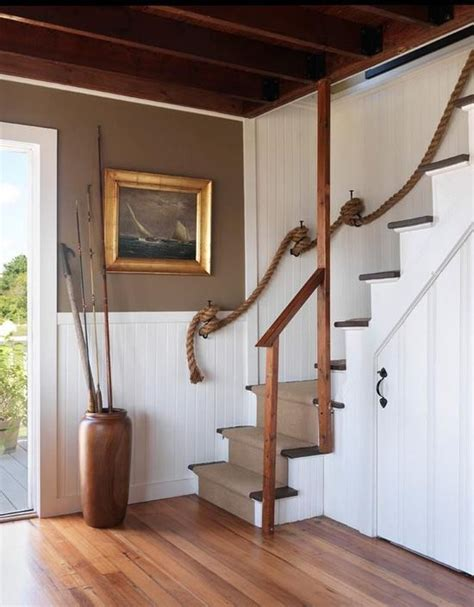 Rope Banisters For Stairs by Rope Stair Rail For The Home